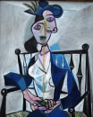 Sitting Woman by Pablo Picasso