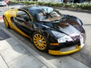 Bugatti Veyron sur Rodeo Drive, Hollywood