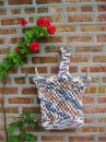 Sac de course faite au crochet
