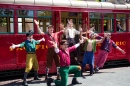 Red Car News Boys, Disney Aventure de Californie