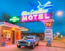 Blue Swallow, motel historique de la Route 66