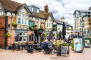 Pub Traditionnel sur Poole Quay, Angleterre