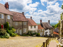 Gold Hill, Shaftesbury, Angleterre