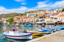 Pythagorion Port, Samos Island, Greece