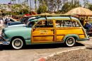 Club de Ford Woodie, Dana Point, Californie
