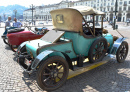 Antique Car Exhibition in Turin, Italy