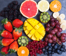 Plateau de fruits et baies