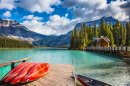 Lac Emerald, Rocheuses Canadiennes