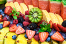 Assortiment de fruits frais