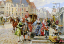 Paris Street in the Time of Louis XIV