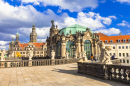 Muséé Zwinger, Dresde, Allemagne