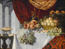 Nature morte de fruits sur une table