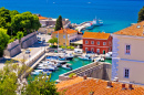 Fosa Harbor in Zadar, Croatia