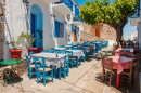 Traditional Greek Taverna, Alonissos Village