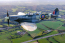 Spitfire MJ627, Biggin Hill, Londres, Royaume-Uni