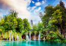 Parc National de Plitvice Lakes, Croatie