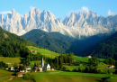 Santa Maddalena Village, South Tyrol, Italy