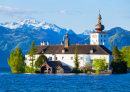 Schloss Ort on the Traunsee Lake, Austria
