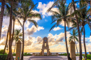 Clock Tower, Palm Beach, Florida