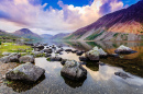 Wastwater, District du lac, Cumbria, Angleterre