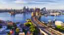 Cahill Expressway to the Sydney Harbour Bridge