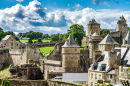 Fougeres Castle, Brittany, France