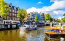 Canal Princier, Amsterdam, Hollande