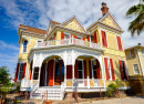 Le quartier de Silk Stocking, Galveston, Texas