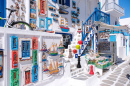 Souvenir Shop, Mykonos Island, Greece