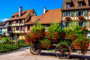 Summer in Turckheim, France