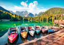 Fusine Lake, Julian Alps, Italy