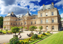 Luxembourg Palace in Paris, France