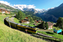 Wengen Village, Switzerland