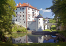 Castle Sneznik in Slovenia