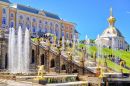 Grand Cascade, Peterhof, Russie