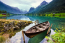 Lake Loen, West Norway