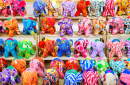 Elephant Dolls in Chiang Mai, Thailand